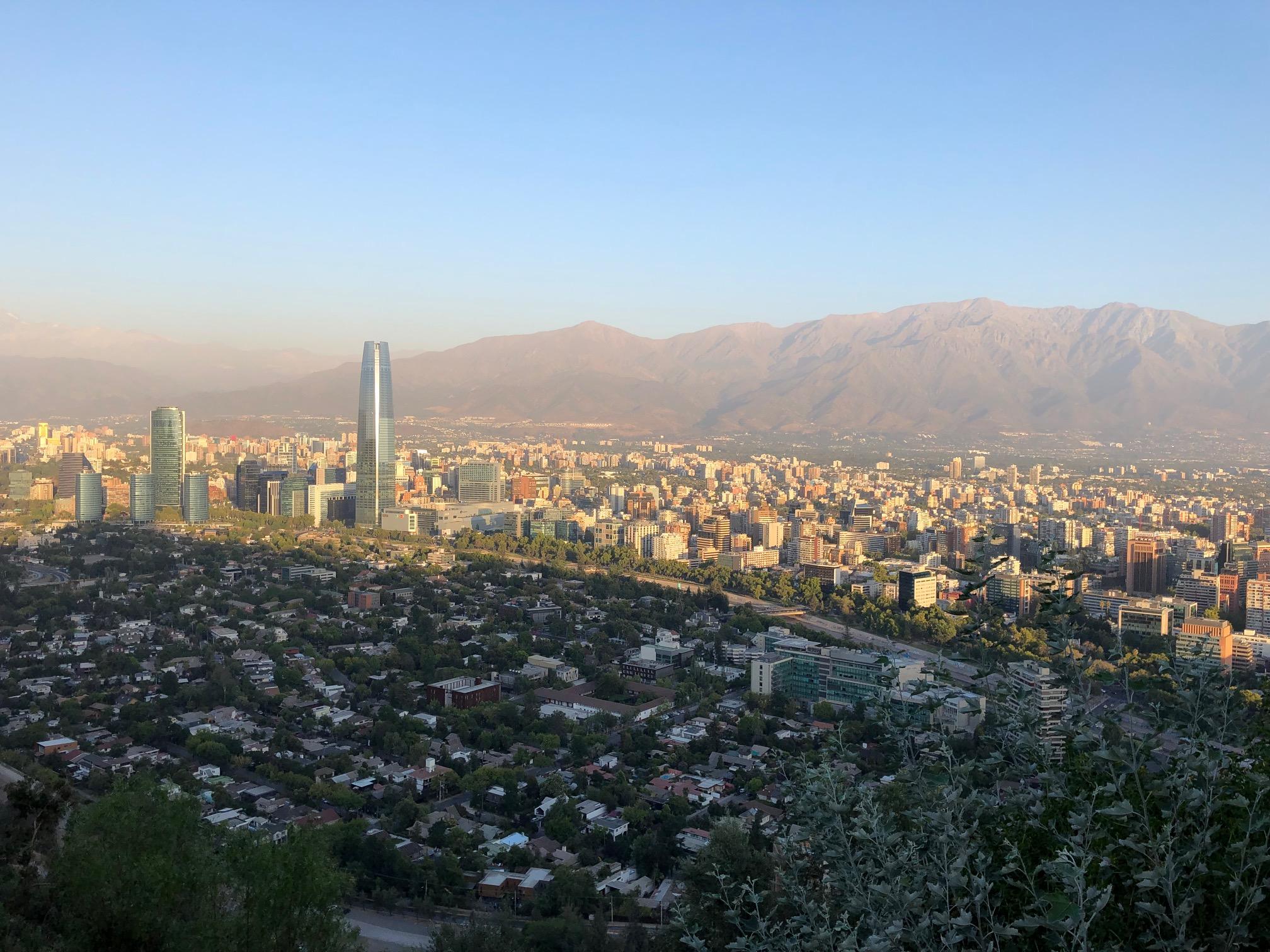 Santiago de Chile und Valparaiso